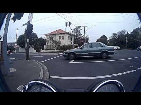 From St.Kilda to St.Kilda Baths, Melbourne, Victoria, Australia, Motorcycle ride part 1 Honda CB900