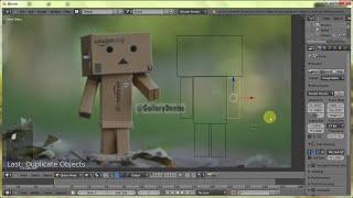 Blender Untuk Pemula - Belajar Cara Membuat Karakter Danbo HD