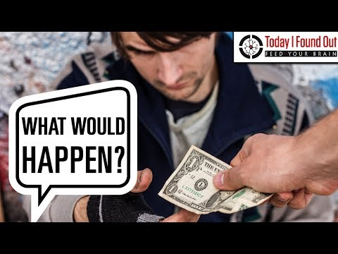That Time Someone Gave a Homeless Person $100,000 Just to See What Would Happen