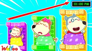 Nap Time for Baby Jenny - Wolfoo Learns the Importance of Naps - Kids Good Habits   Wolfoo Channel