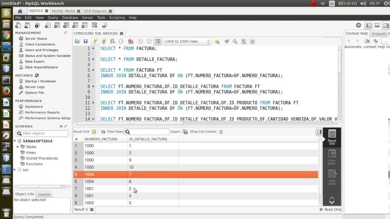 Consultas SQL INNER JOIN - YouTube