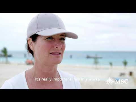MSC Cruises prepares for Ocean Cay debut in Bahamas