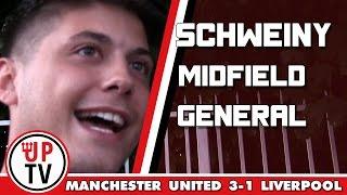 Bastian Schweinsteiger was a midfield general! | Manchester United 3-1 Liverpool