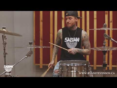 Ryan Stevenson with new Quiet Tone by SABIAN