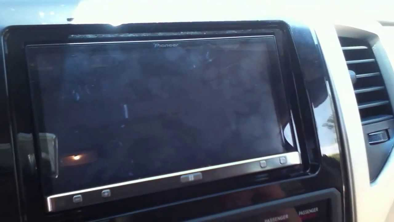 New Toyota Tacoma >> Pioneer AppRadio3 SPH-DA110 in 2013 Toyota Tacoma - YouTube