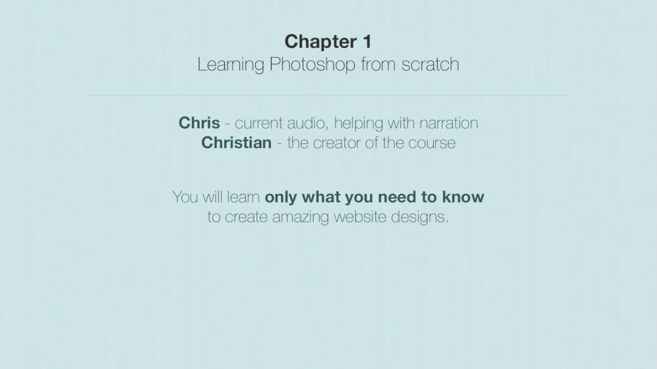 Udemy Learn Photoshop Web Design Profitable Freelancing Intro Youtube