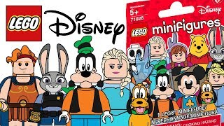 LEGO Disney Minifigures Series 2 - CMF Draft!