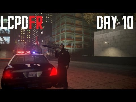 GTA IV LCPDFR 1.0 Day 10 - Southland LAPD Crown Victoria