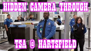 TSA Pre-Check at Hartsfield with hidden camera