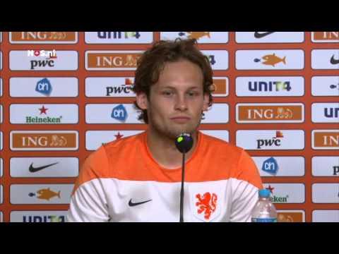 Blind maakt zich geen zorgen   WK Voetbal 2014