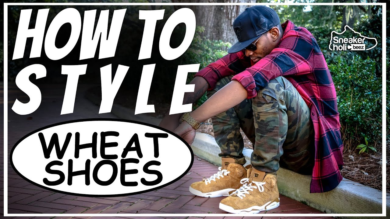 d7dfd385f3a HOW TO STYLE JORDANS | HOW TO STYLE WHEAT SHOES | HOW TO STYLE RETRO WHEAT  JORDANS | FALL LOOKBOOK