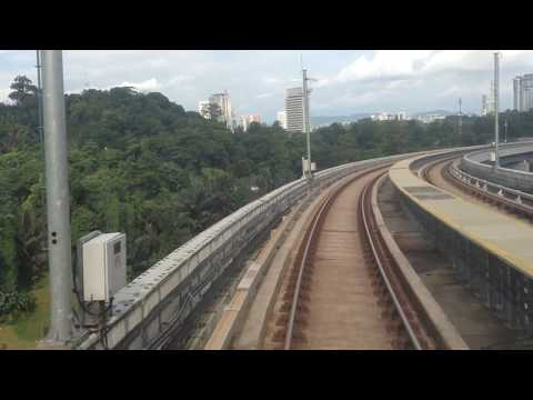 (MRT Malaysia) SBK Line Train ride: Mutiara Damansara To Cochrane Station, August 27, 2017