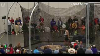 USATF Indoors 2016- 23.05 weight throw