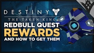 Destiny: The Taken King - Redbull Quest Sparrow And Ghost Skin Rewards Plus How To Unlock Them