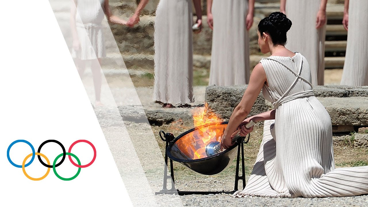 Rio 2016 | HD Replay - Lighting Ceremony of the Olympic Flame from Olympia Greece - YouTube & Rio 2016 | HD Replay - Lighting Ceremony of the Olympic Flame from ... azcodes.com