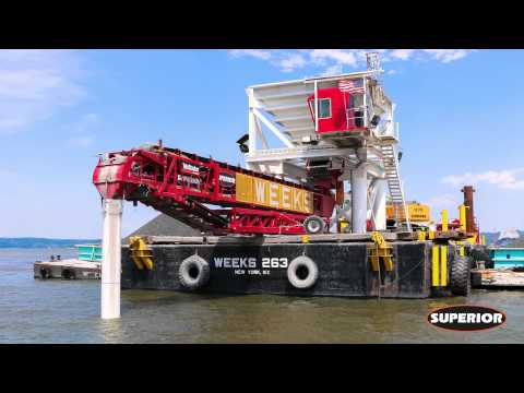 Weeks Marine Uses Barge Mounted TeleStacker® Conveyor in Dredging Application