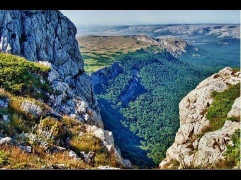 Горный Крым. Горы и скалы Крыма./ The Mountains And Cliffs Of The Crimea.