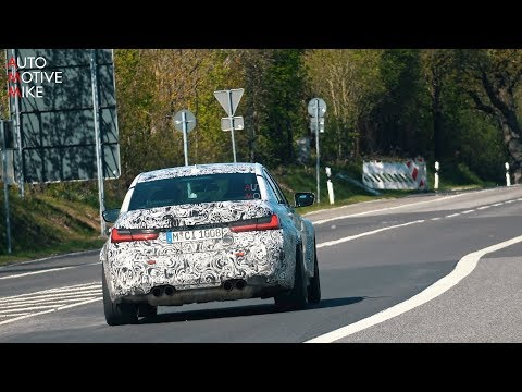2021 BMW M3 G80 SPIED TESTING AT THE NÜRBURGRING