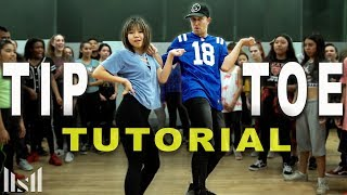 """TIP TOE"" - Jason Derulo Dance Tutorial 