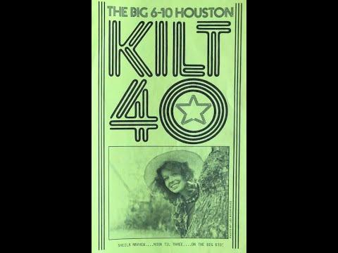 610 K I L T Houston - Beau Weaver & Sheila Mayhew (1977)