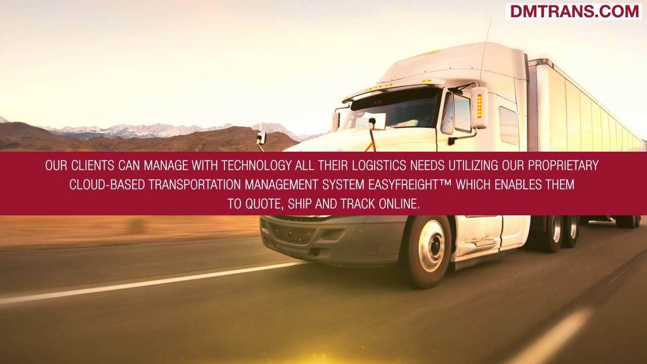 DM Transportation Management | Making Project Logistics Management Easy For  Clients