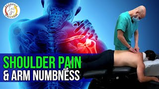Shoulder Pain, Arm Numbness (NYC Chiropractic Adjustment)