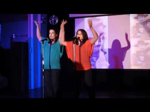 Coutin School Live Night 2012 - Eileen & Amanda Singing