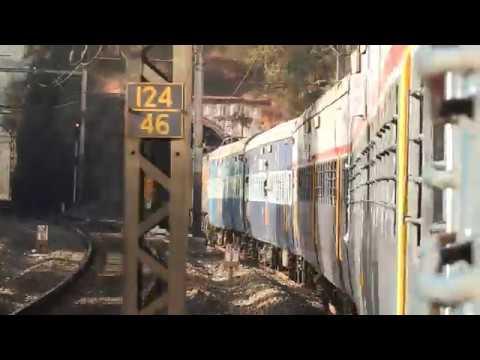 Khandala To Lonavala By 12127 Mumbai Pune Intercity Express