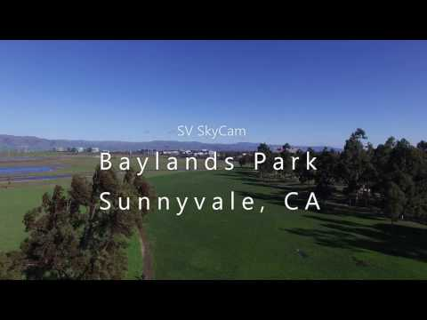 Aerial Videography: Baylands Park, Sunnyvale, CA 4K