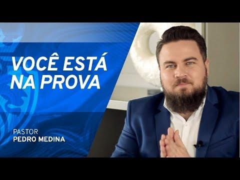 Você está na prova e Jesus ainda te repreende - Pr Pedro Medina