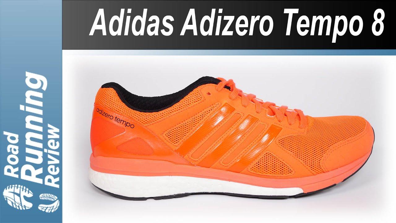 ada6f05f519 Adidas Adizero Tempo 8 Review - YouTube