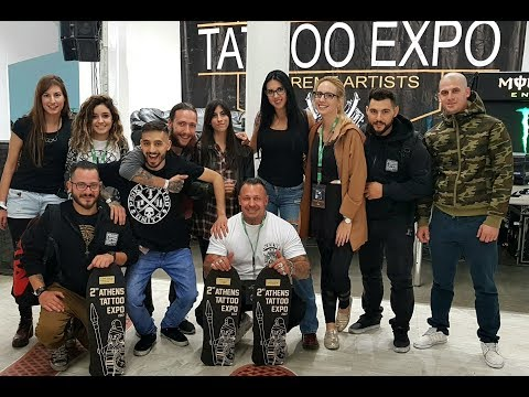 athens 2nd tattoo expo 2017 proki tattoo studio