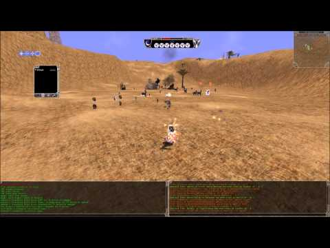 Shadowbane Emulator Mine Fight  x vs qft vs occ vs silvermoon