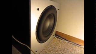 Slow Motion Subwoofer Excursion