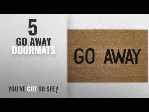 Top 10 Go Away Doormats [2018 ]: Kempf Go Away Doormat, 16 by 27 by 1-Inch