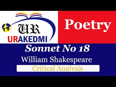 william shakespeare shall i compare thee analysis