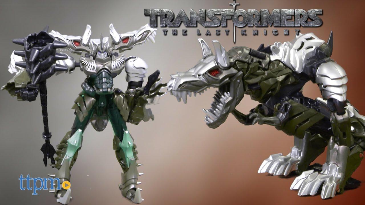 Transformers Last Knight Premier Voyager Grimlock Ages 8 Toy Robot Dinosaur Fun