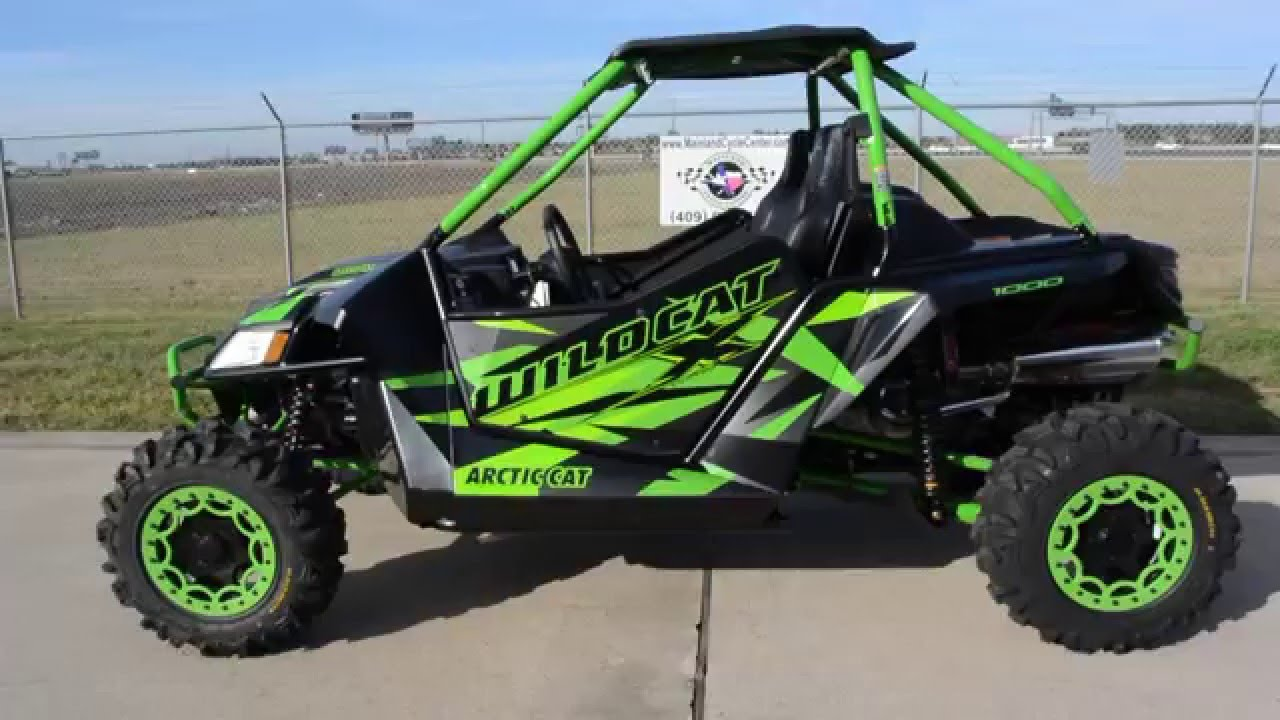 $19,999: 2016 arctic cat wildcat x special edition desert tan.