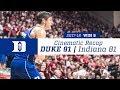 Win 9 | Cinematic Recap: Duke 91, Indiana 81 (11/29/17)