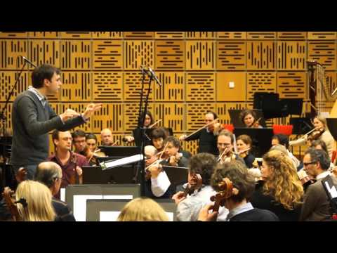 Daan Jansen - opname orchestral score Radio 4