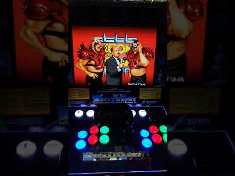 WWF Wrestlefest Arcade1up Modification (First Time Power Up) from Billy Vaux