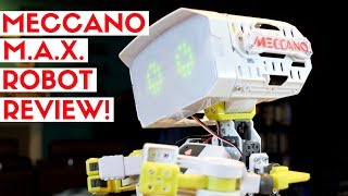 Meccano MAX Robot Review