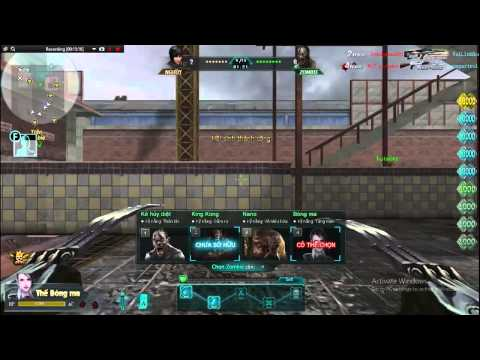 [Truy Kich] Game Play:M4a1 Gold Kill Zombie VaiLinhHon (Kênh Chính Thức)