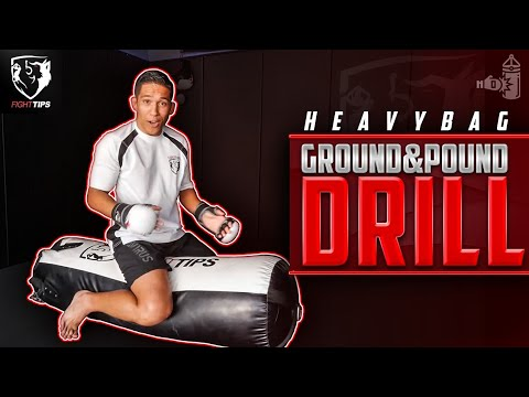 Heavybag Ground Pound Mma Drill You