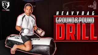 Скачать Heavybag Ground Pound MMA Drill