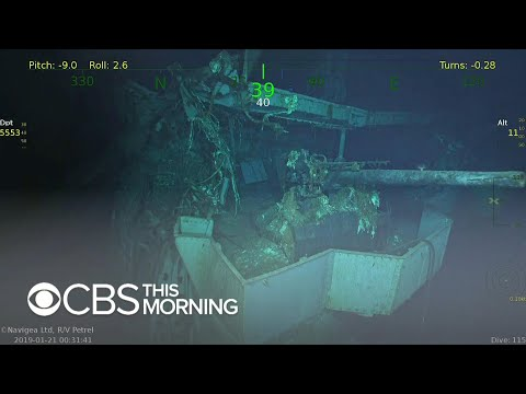 Deep Sea Explorers Discover WWII Aircraft Carrier USS Wasp