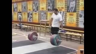 Симон Мартиросян 190 кг рывок