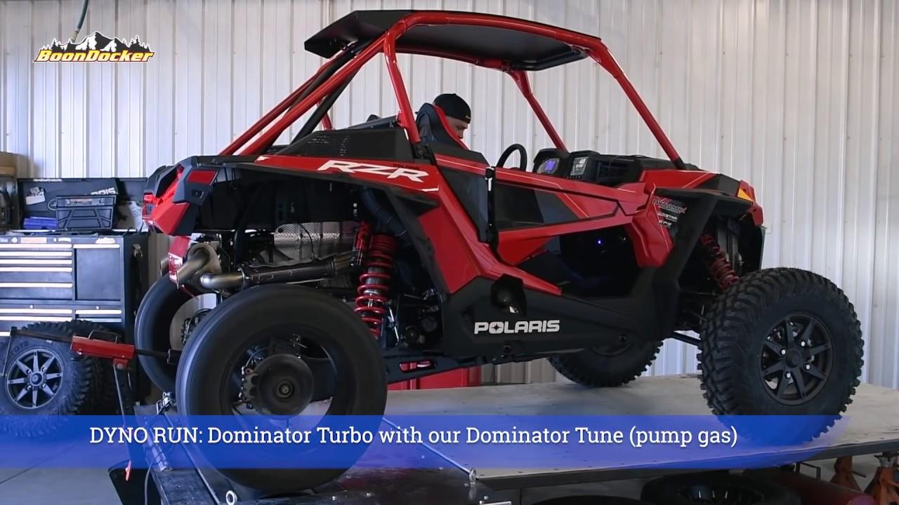 Polaris RZR Turbo S Dominator Build - Episode 4 - Dyno Day
