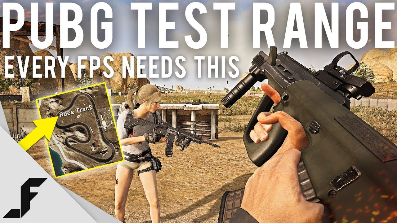 PUBG Test Range - Every FPS needs this