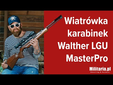Wiatrówka karabinek z dolnym naciągiem  Walther LGU MasterPro